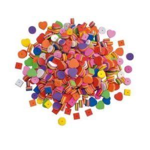 Mjuka pärlor, Mossgummi, 500st