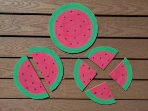 Bråk med vattenmelon