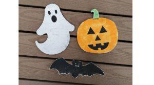 Läs mer om artikeln Svampmålade halloweenfigurer