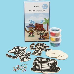 Foam clay kit. Sjöjungfru eller pirater