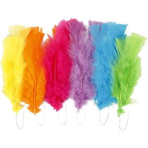 Dun, blandade färger