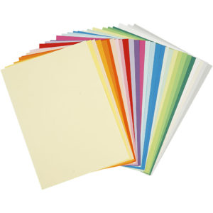 Färgat papper